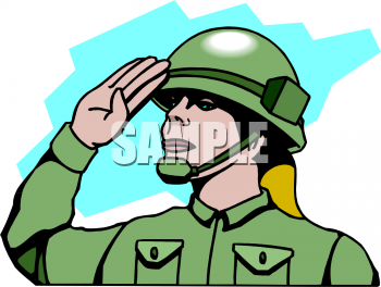Military clipart army guy #12.