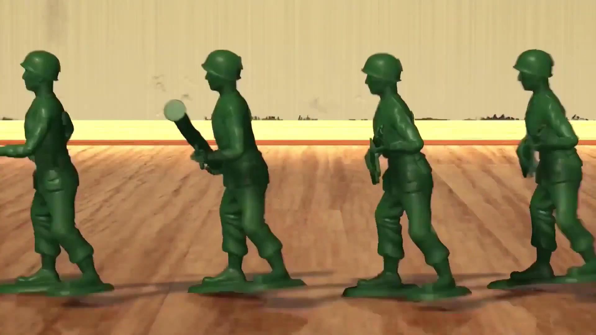 Green Army Men.