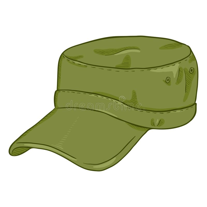Army Cap Stock Illustrations.