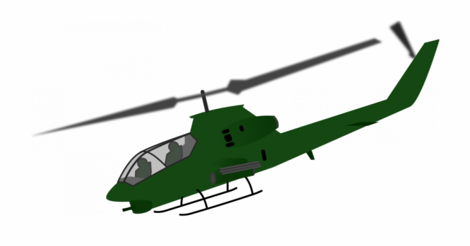 Helicopter Clipart Air Vehicle.