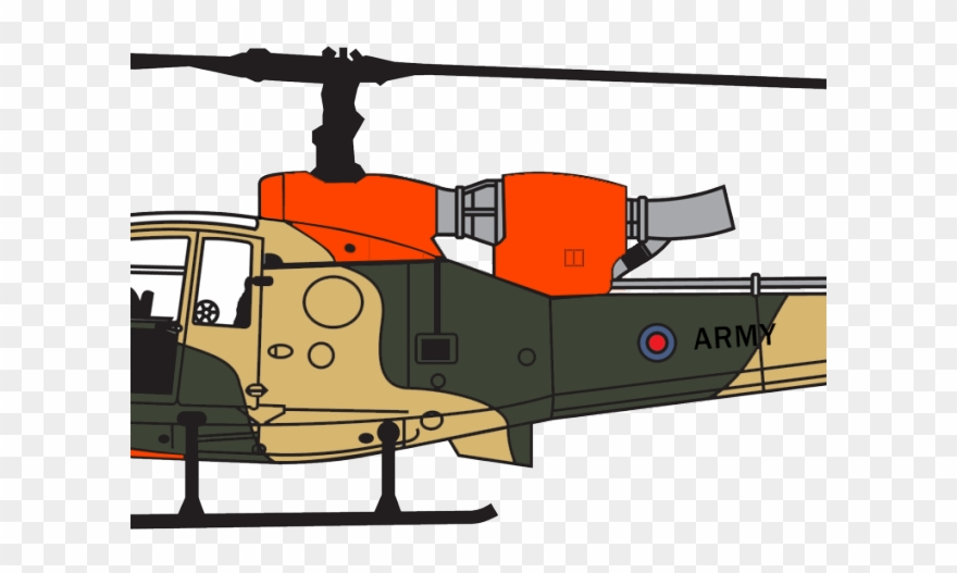 Army Helicopter Clipart British.