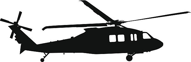 Best Military Helicopter Illustrations, Royalty.
