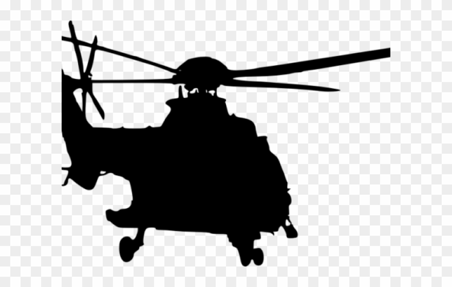 Helicopter Clipart Top View.