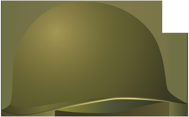 Military Helmet PNG Clip Art Image.