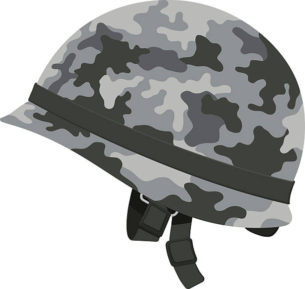 Best Army Helmet Illustrations, Royalty.