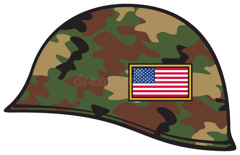 Army Helmet Stock Illustrations.