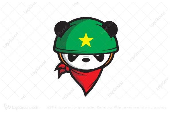 Exclusive Logo 107303, Soldier Of Panda Logo.