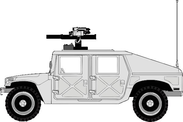 Armed Hummer Clip Art at Clker.com.