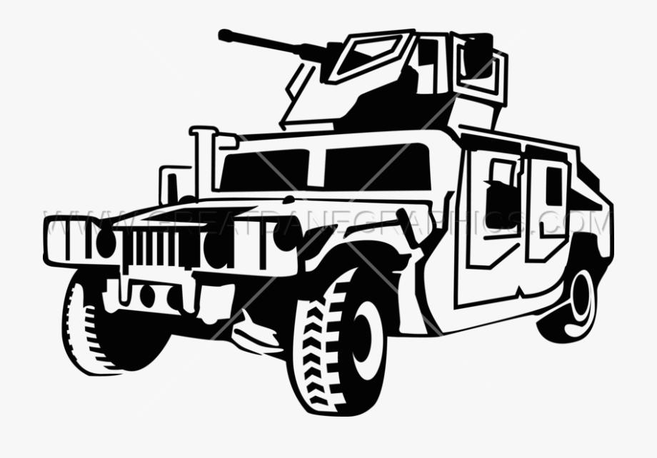 Tank Clipart Humvee.