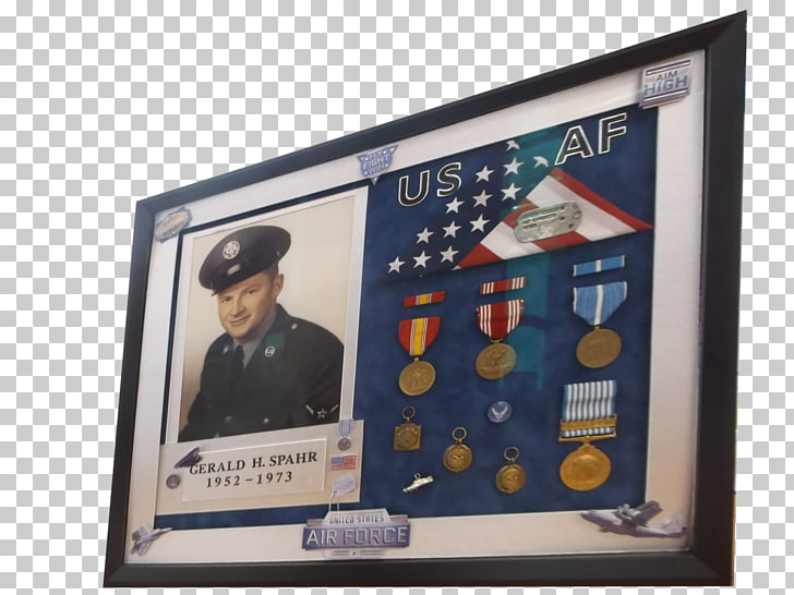 Shadow box Military Frames Display case Medal, police honor.