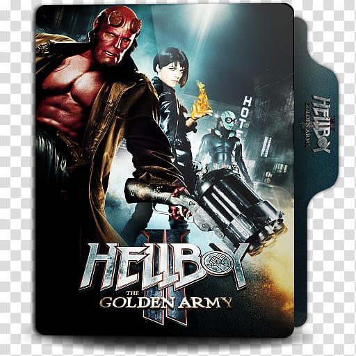 Hellboy Collection Folder Icon , Hellboy , Golden Army.