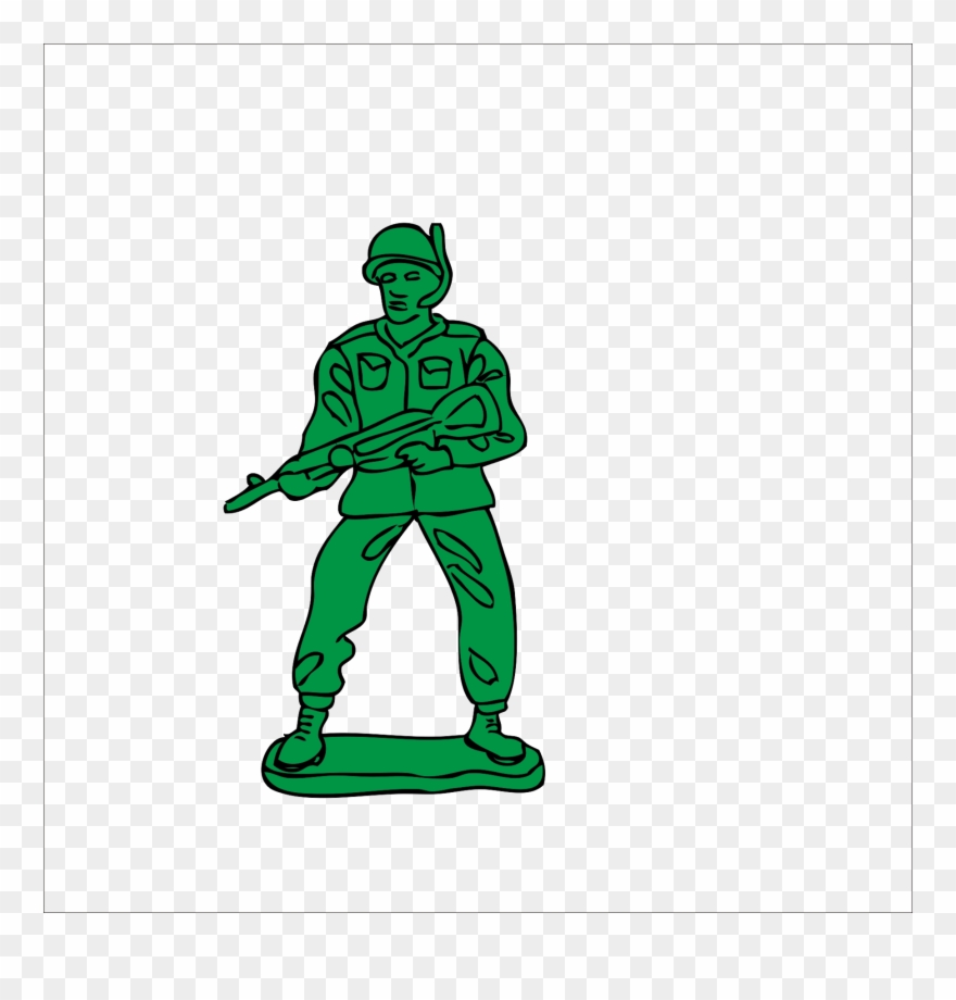 Toy Soldier Clip Art.