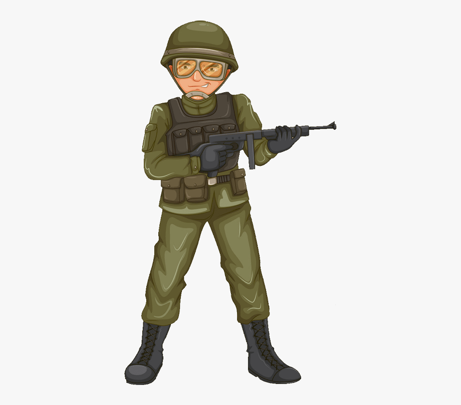 Army Soldier Png.