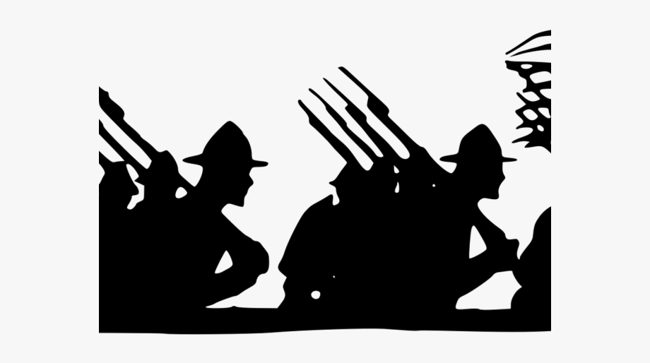 War Clipart Marching Army.