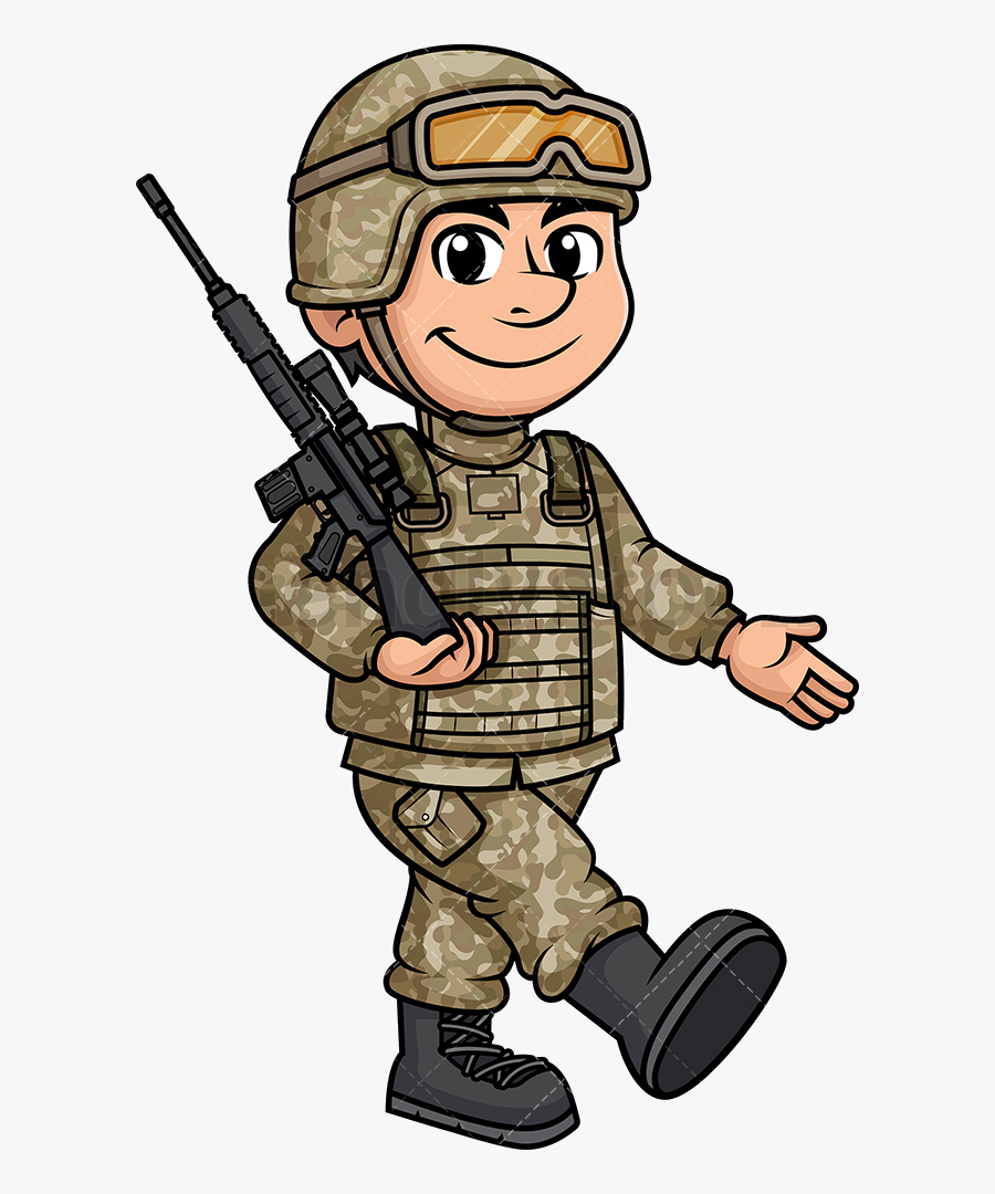 Soldier Male Marching Transparent Png.