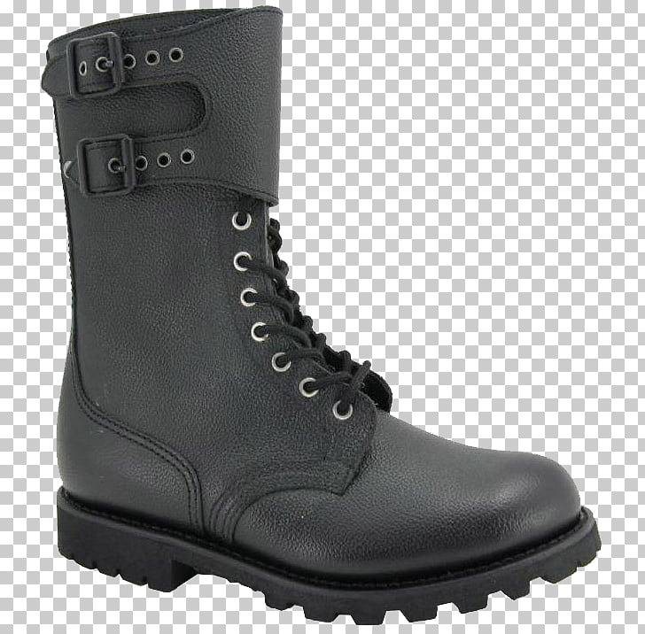 Motorcycle boot Leather Shoe Clothing, army boots PNG.