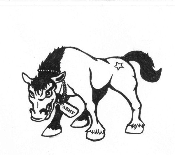 Army Mule Tattoo by karadarkthorn on DeviantArt.