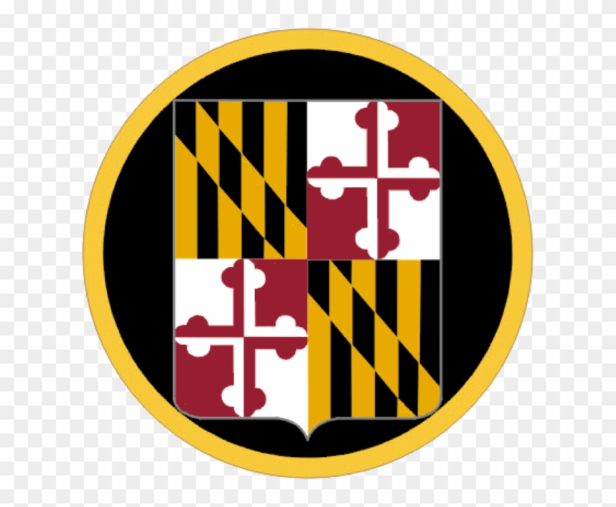 Maryland Army National Guard Logo Clipart.