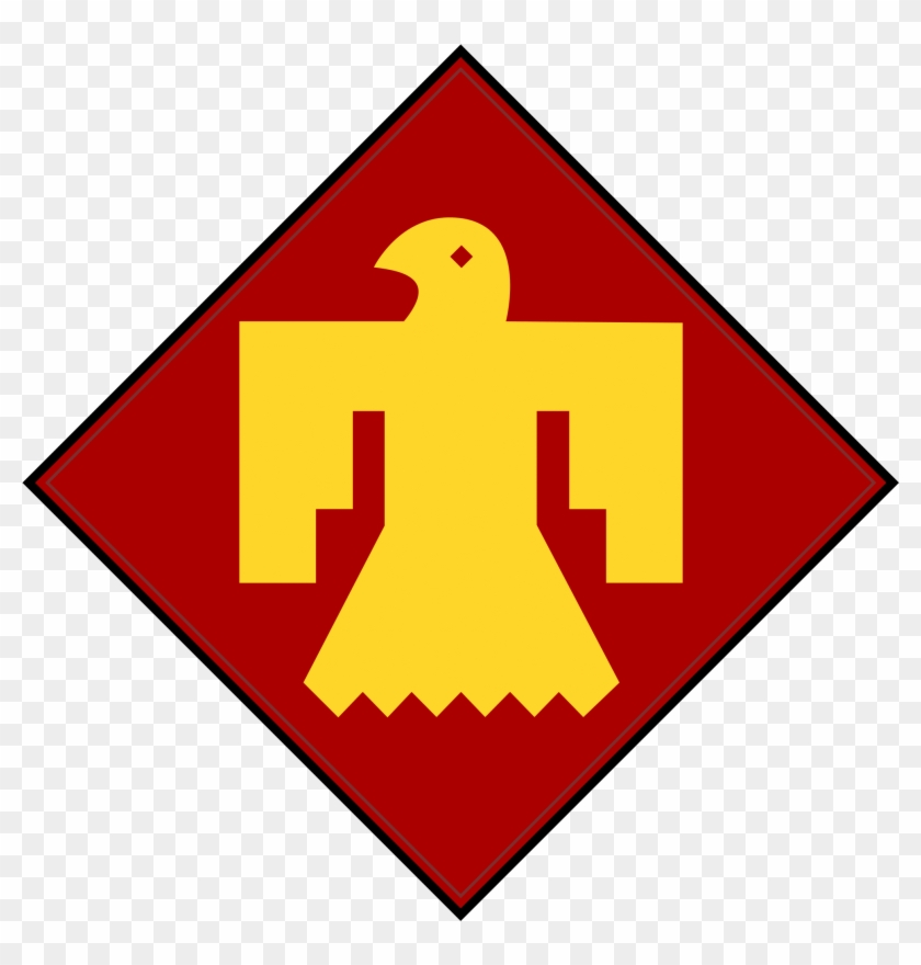 45th Infantry Insignia.