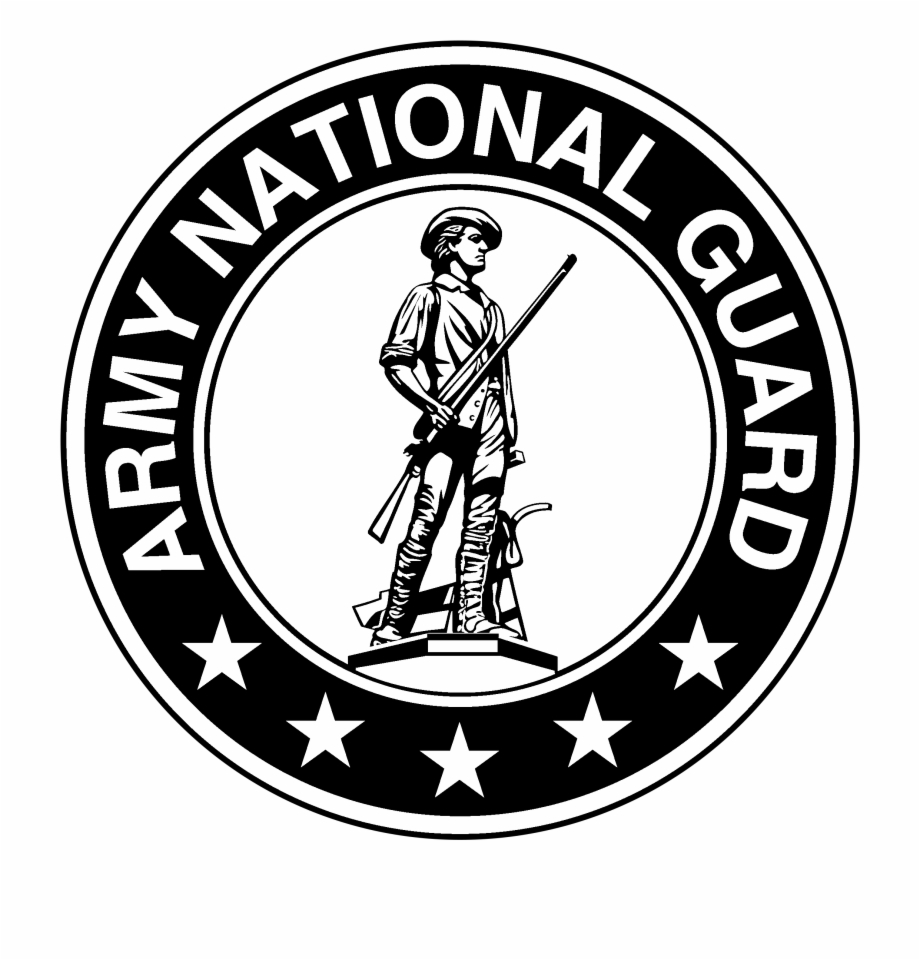 Army National Guard Logo Black And White Army.