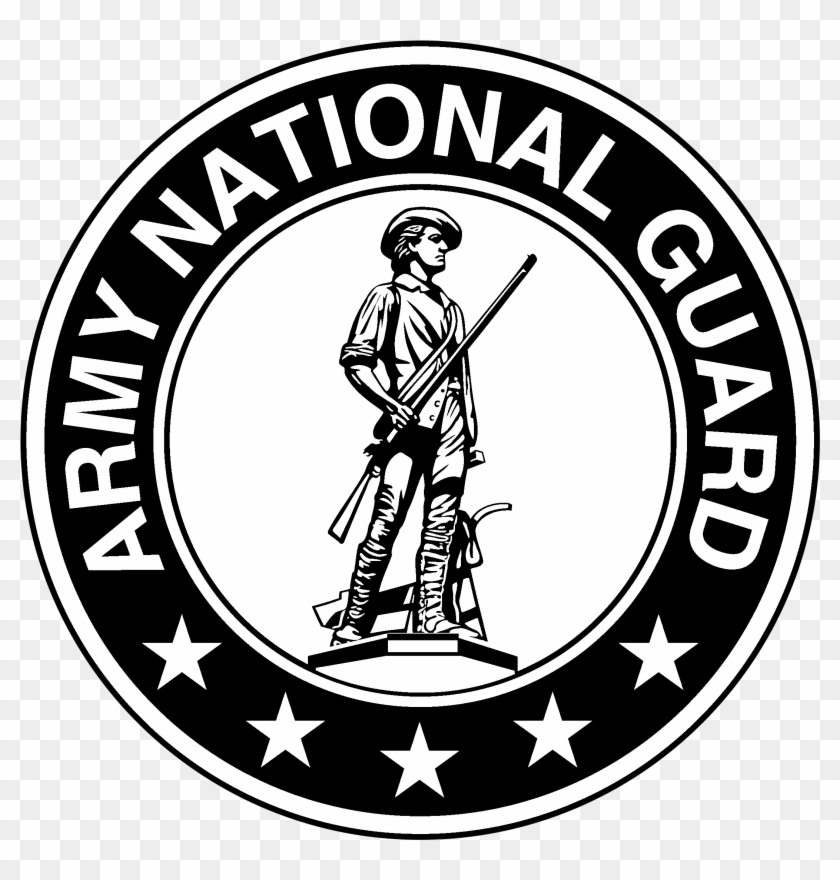 Army National Guard Logo Png Transparent Svg Vector.
