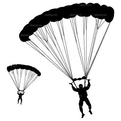 Army parachute clipart 2 » Clipart Portal.