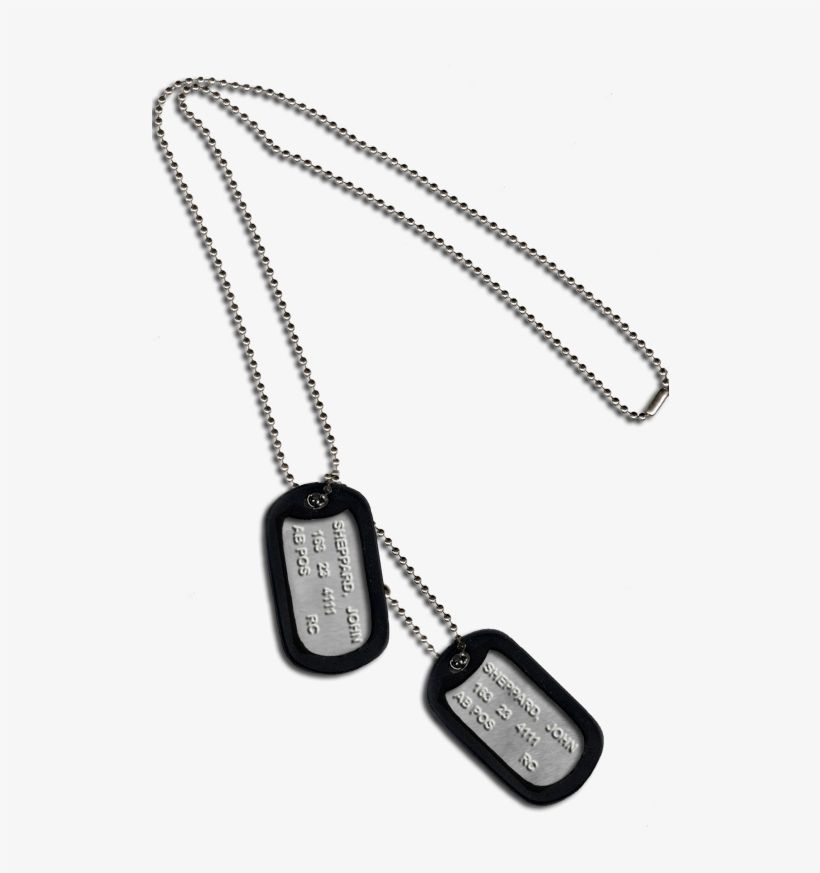 Military Dog Tags Png.