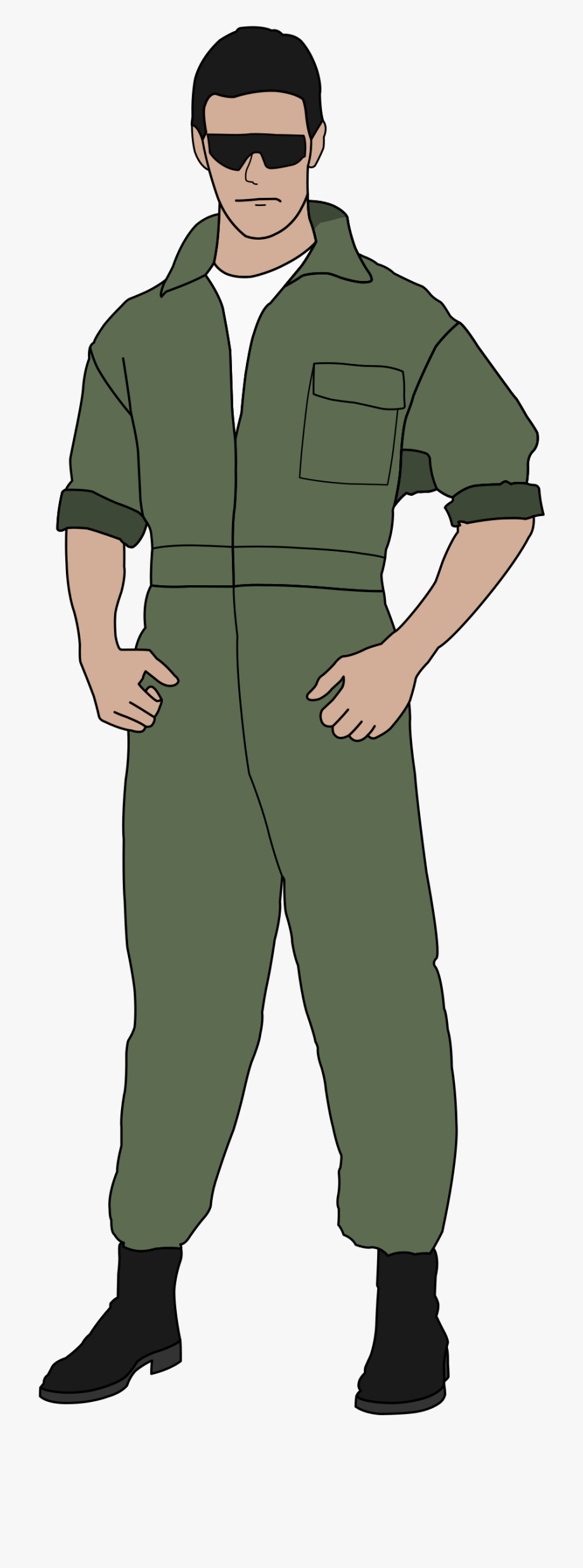 Vintage Military Pilot Wings Clipart No Background.
