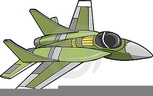 Free Fighter Plane Clipart.