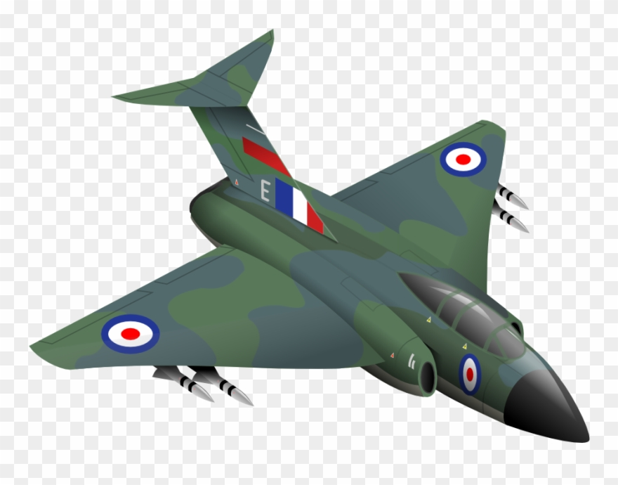 Aircraft Clipart Fighter Plane.