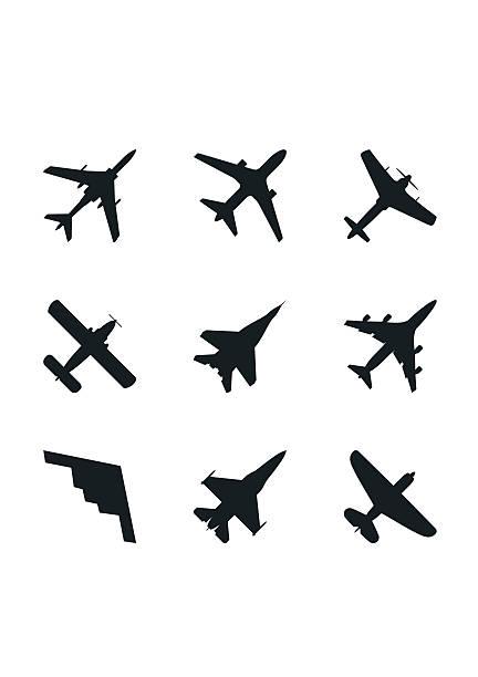 Best Fighter Plane Illustrations, Royalty.
