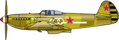Free Fighter Plane Clipart and Vector Graphics.