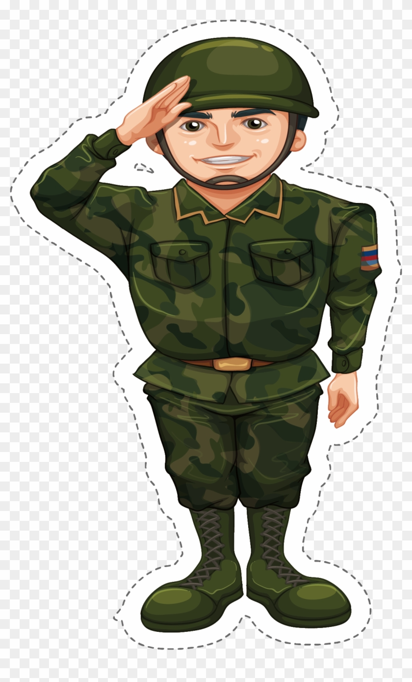 Png Transparent Download Soldier Salute Clipart.