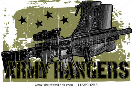 Army Ranger Stock Images, Royalty.