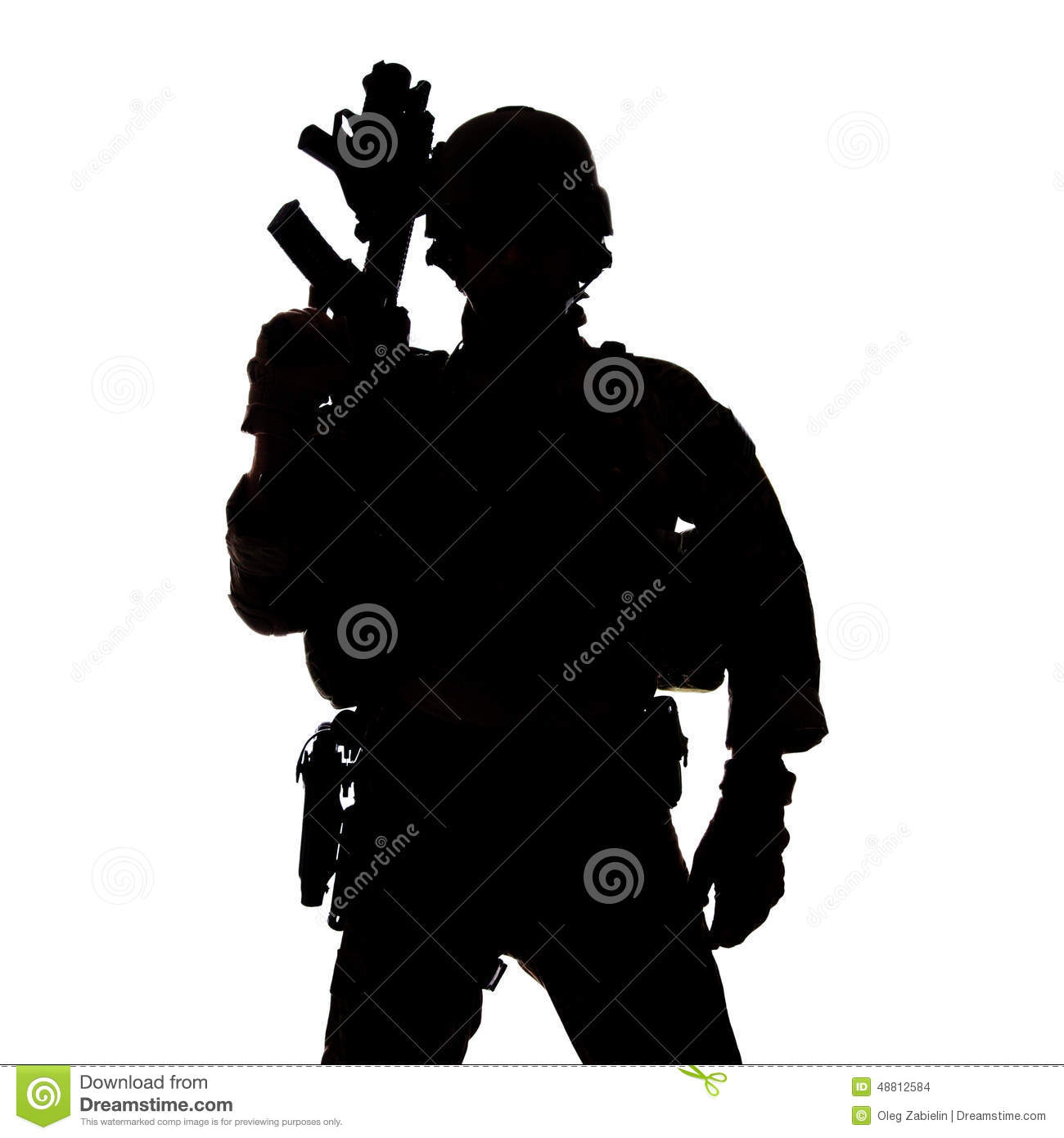 United States Army Ranger Stock Photo.