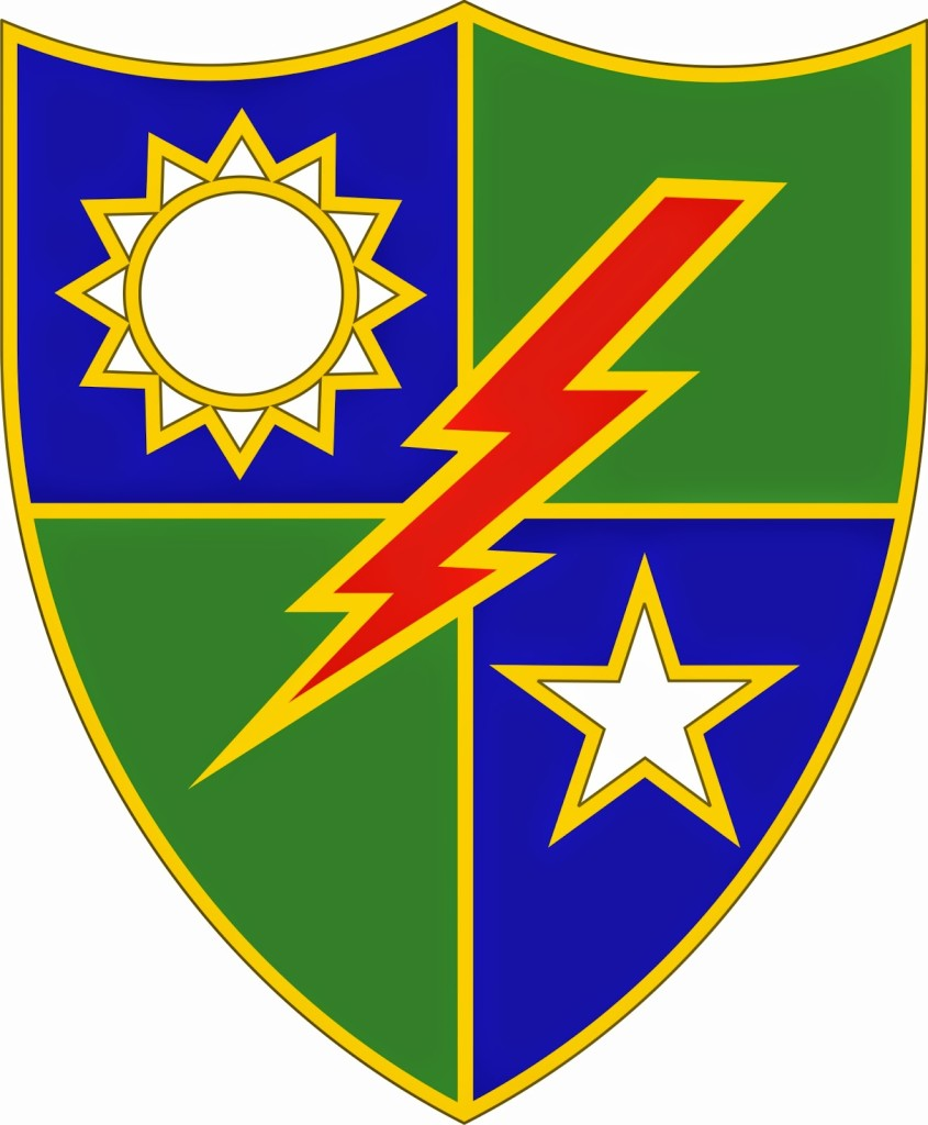 75th Ranger Regiment Clipart.