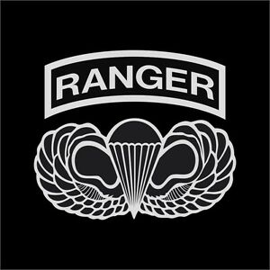 Details about US Army Ranger Airborne Wings Military Vinyl Decal Sticker  Window Wall Car.