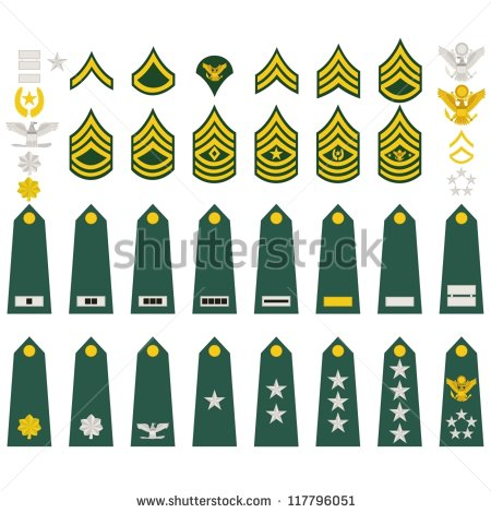 Military Insignia Stock Images, Royalty.