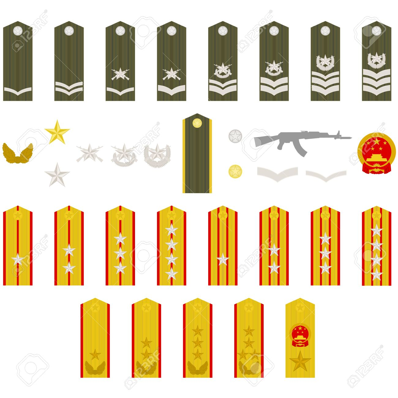 940 Military Rank Cliparts, Stock Vector And Royalty Free Military.