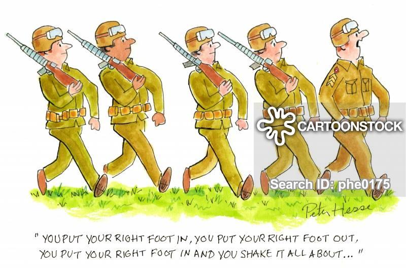 Army Training Cartoons and Comics.