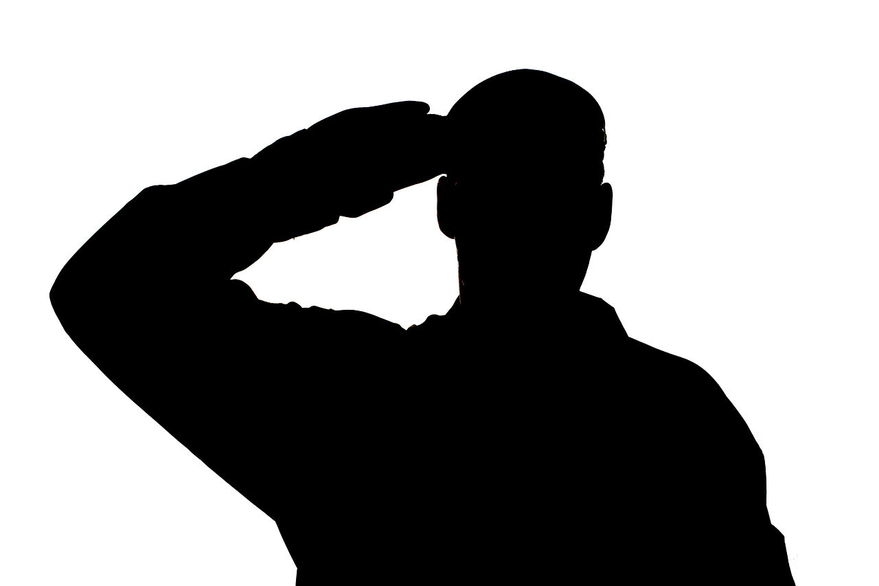 Free Soldier Saluting Cliparts, Download Free Clip Art, Free.