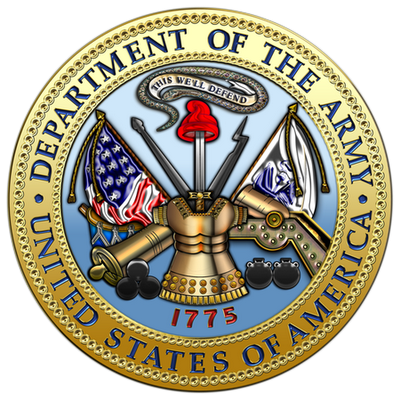 Military Insignia 3D : The United States Army Seal.