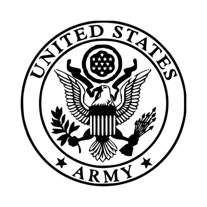 United States Army Great Seal America U S Military Vinyl.