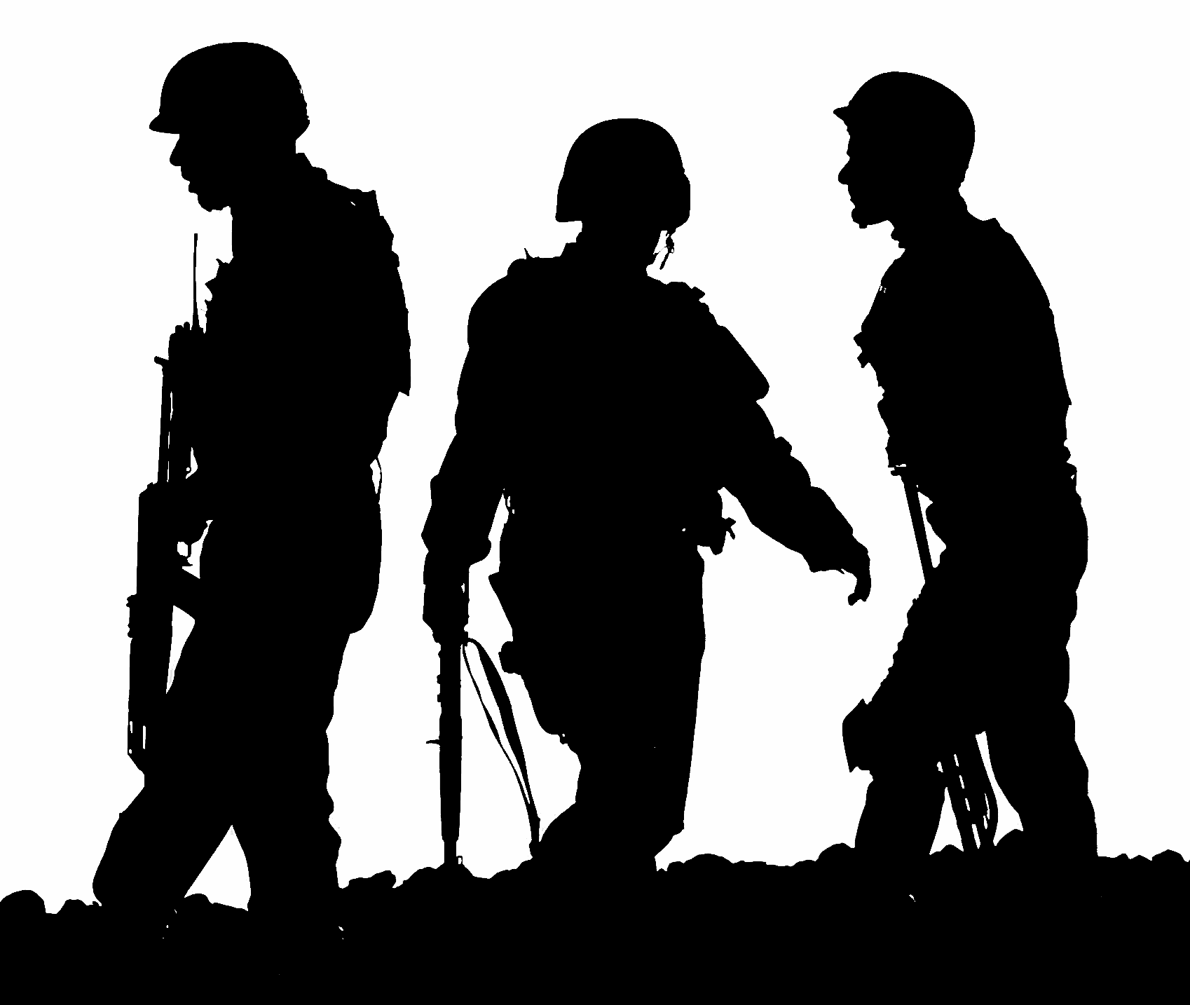 Free Army Silhouette Png, Download Free Clip Art, Free Clip Art on.
