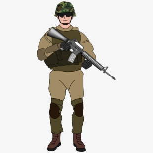 Army Soldier Clipart , Transparent Cartoon, Free Cliparts.