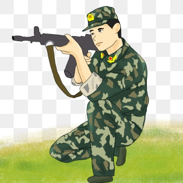 Soldier PNG Images.