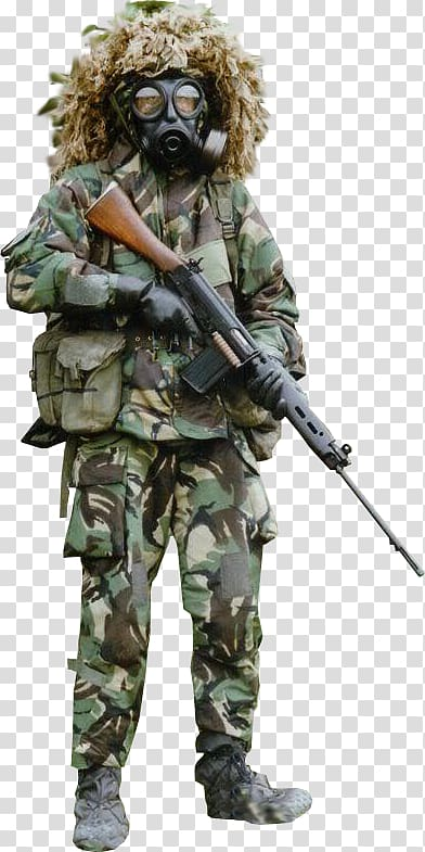 Soldier Infantry Military camouflage Army, Soldier transparent.