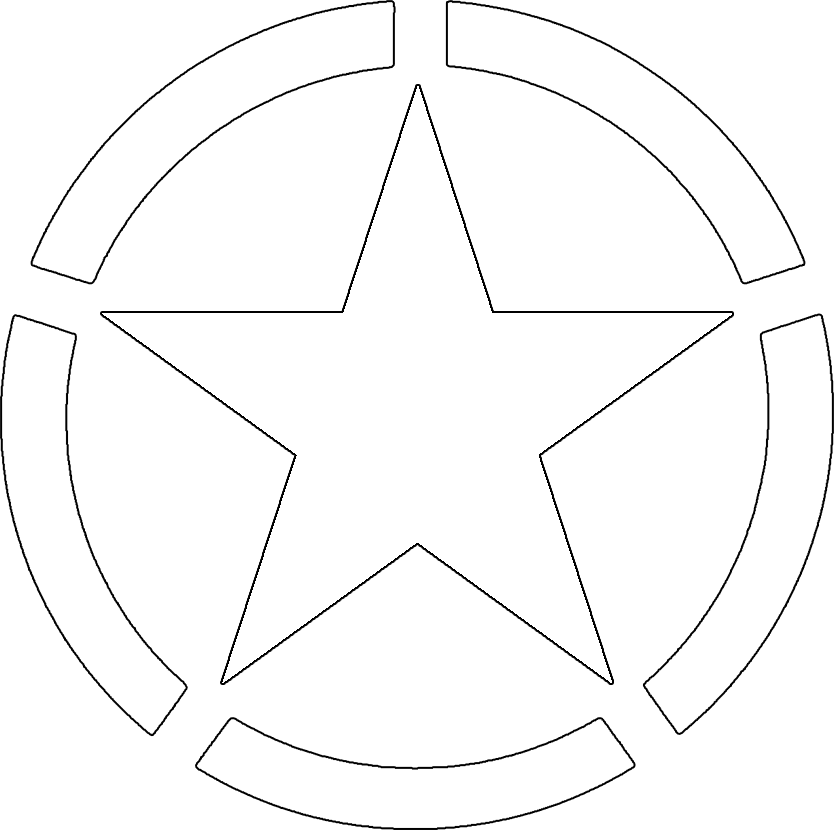 Free Military Stars Cliparts, Download Free Clip Art, Free Clip Art.
