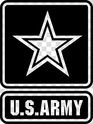 Star Army transparent background PNG cliparts free download.
