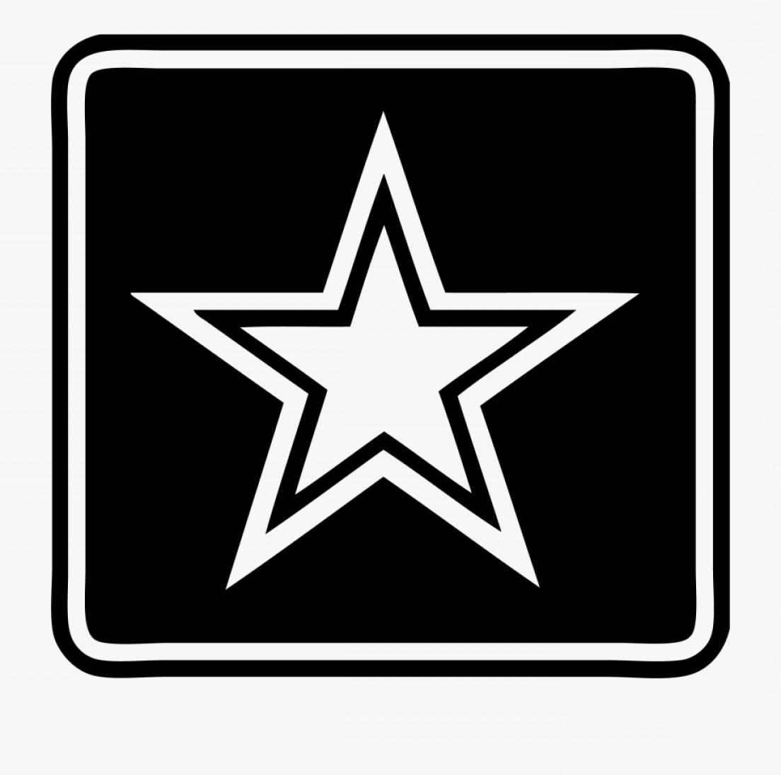 Hiihhbmilitary Star Clipart Transparent Background Us Army.